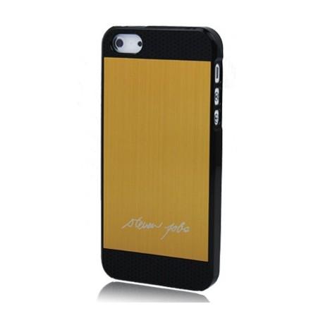 Coque Alu - iPhone 5 - Steve Jobs signature - Or
