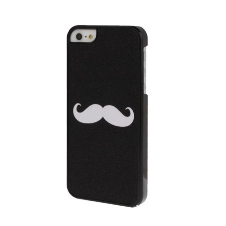 Coque dur - iPhone 5 - Moustache