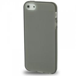 Coque souple TPU - iPhone 5 - Noir