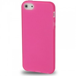 Coque souple TPU - iPhone 5 - Rose