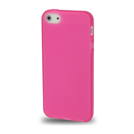 Coque souple TPU - iPhone 5 - Rose