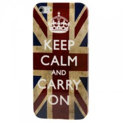 Coque dur - iPhone 5 - Retro UK