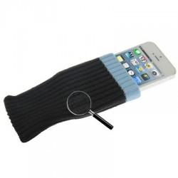 Étui chaussette - iPhone 5 - Noir