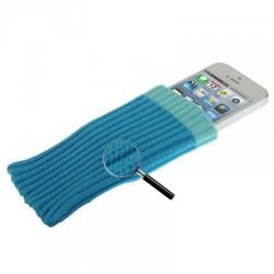 Étui chaussette - iPhone 5 - Bleu