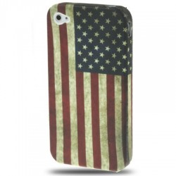 Coque souple TPU - iPhone 4/4S - USA