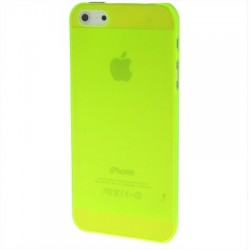 Coque Ultra Fine - iPhone 5 - Jaune Fluo