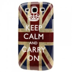 Coque dur - Galaxy S4 - UK KEEP CALM