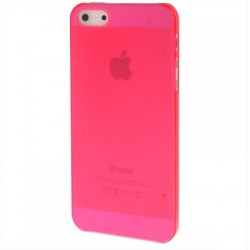 Coque Ultra Fine - iPhone 5 - Rose Fluo