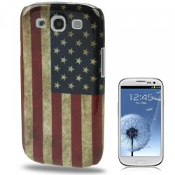 Coque dur - Galaxy S3 - Retro USA