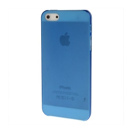 Coque Ultra Fine - iPhone 5 - Bleu Fluo