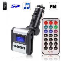 MP3 + FM transmetteur voiture