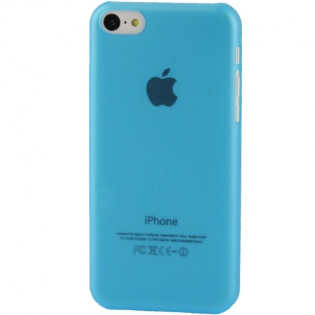 Coque Ultra Fine - iPhone 5C - Bleu
