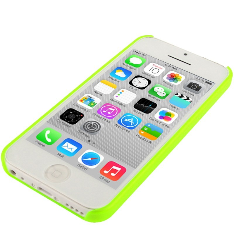 coque iphone 7 silicone jaune