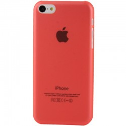 Coque Ultra Fine - iPhone 5C - Rouge