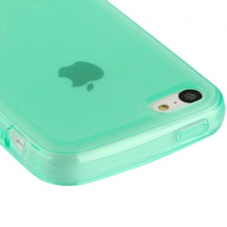 Coque souple TPU - iPhone 5C - Vert