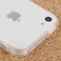 Coque souple TPU - iPhone 5C - Blanc