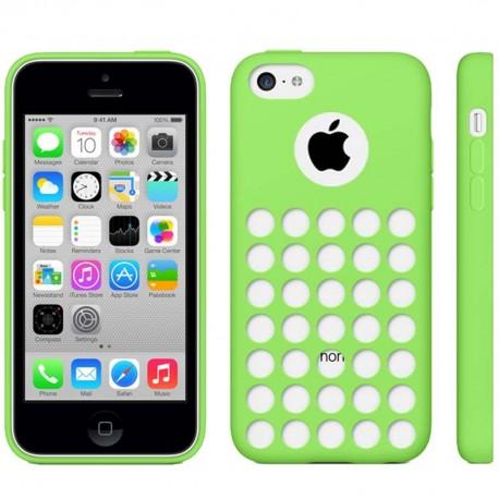 Coque Silicone - iPhone 5C - Vert