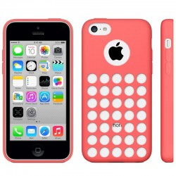 Coque Silicone - iPhone 5C - Rouge