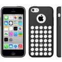 Coque Silicone - iPhone 5C - Noir