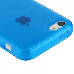 Coque souple TPU - iPhone 5C - Bleu