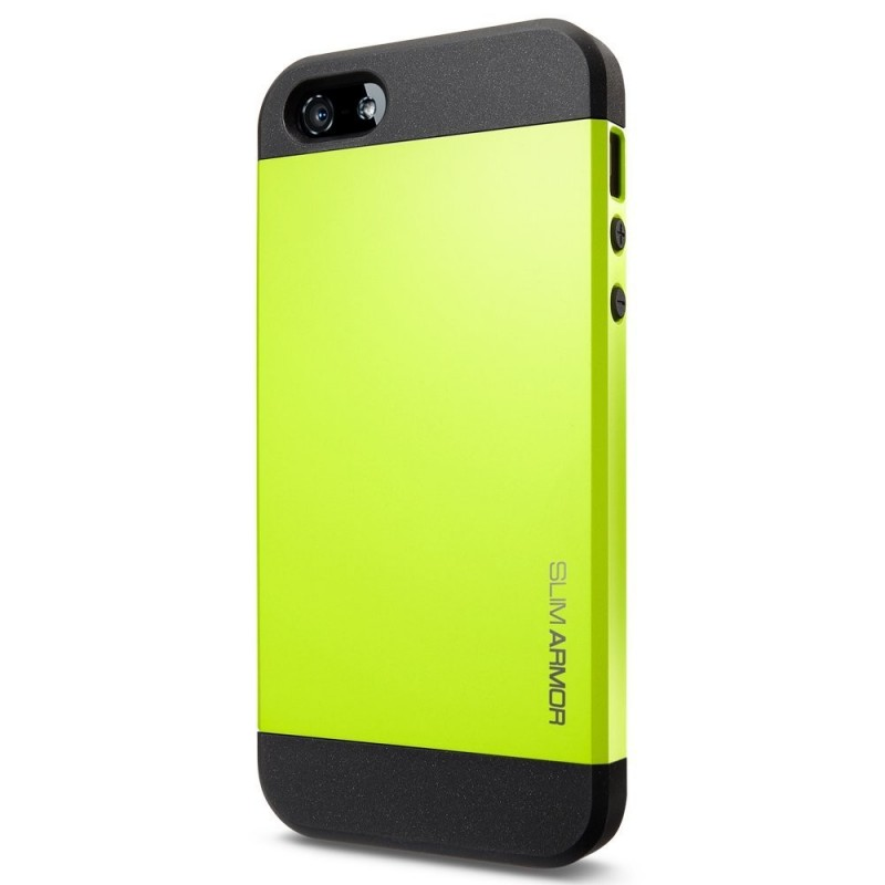 coque jaune fluo iphone 7