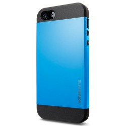 Coque SLIM ARMOR - iPhone 5/S - Bleu