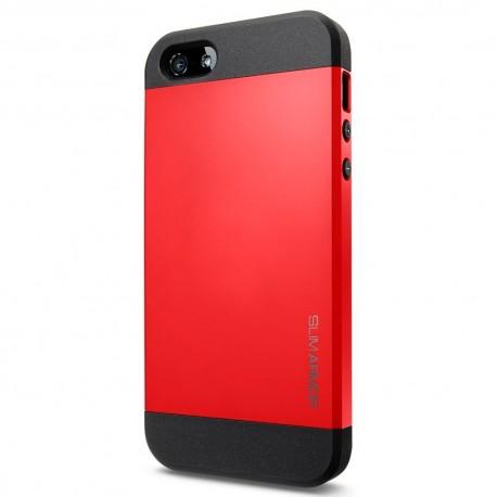 Coque SLIM ARMOR - iPhone 5/5S - Rouge
