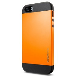 Coque SLIM ARMOR - iPhone 5/5S - Orange