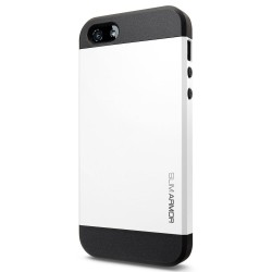 Coque SLIM ARMOR - iPhone 5/5S - Blanc