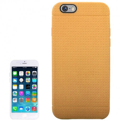 Coque TPU Honeycomb - iPhone 6 - Brun
