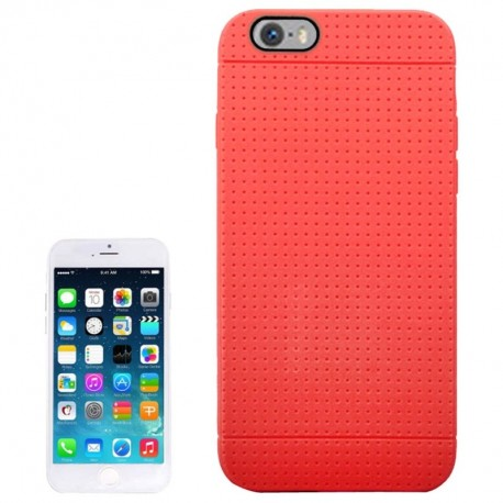 Coque TPU Honeycomb - iPhone 6 - Rouge