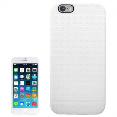 Coque TPU Honeycomb - iPhone 6 - Blanc