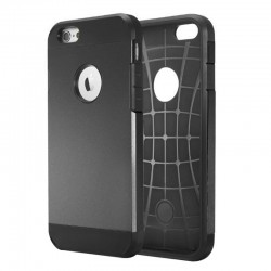 Coque SLIM ARMOR - iPhone 6 - Noir