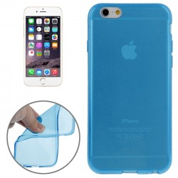 Coque souple TPU - iPhone 6 - Bleu