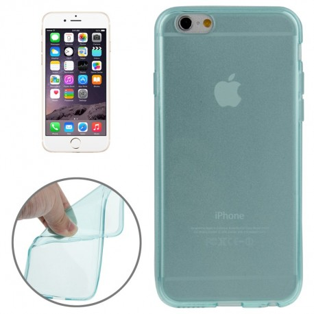 Coque souple TPU - iPhone 6 - Turquoise
