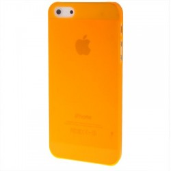 Coque Ultra Fine - iPhone 5 - Orange Fluo