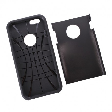 Coque SLIM ARMOR - iPhone 6+ - Noir