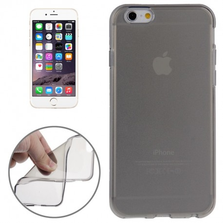 Coque souple TPU - iPhone 6 - Noir