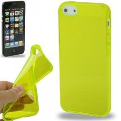 Coque souple TPU - iPhone 5 - Blanc