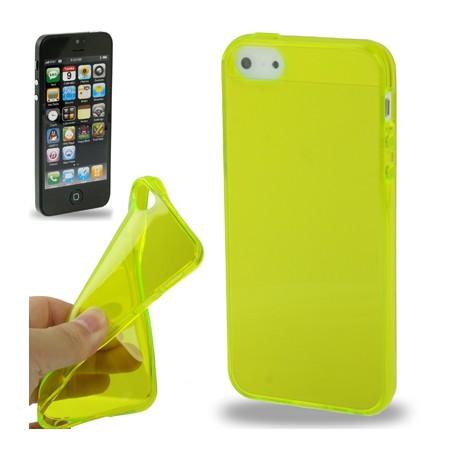 Coque souple TPU - iPhone 5 - Blanc